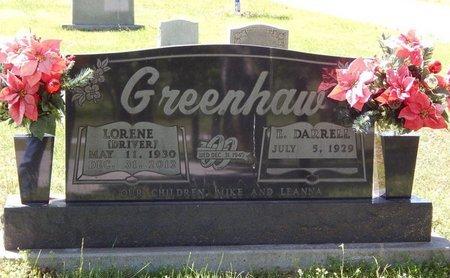 GREENHAW, LORENE - Boone County, Arkansas | LORENE GREENHAW - Arkansas Gravestone Photos