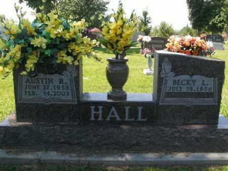 HALL, AUSTIN R. - Boone County, Arkansas | AUSTIN R. HALL - Arkansas Gravestone Photos