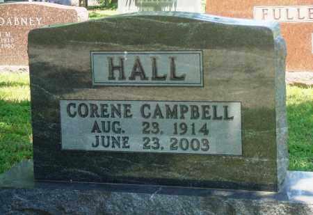 HALL, CORENE - Boone County, Arkansas | CORENE HALL - Arkansas Gravestone Photos