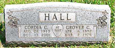 HALL, GROVER C - Boone County, Arkansas | GROVER C HALL - Arkansas Gravestone Photos