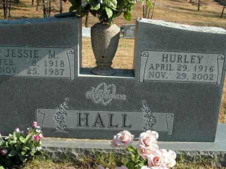 HALL, HURLEY - Boone County, Arkansas   HURLEY HALL - Arkansas Gravestone Photos