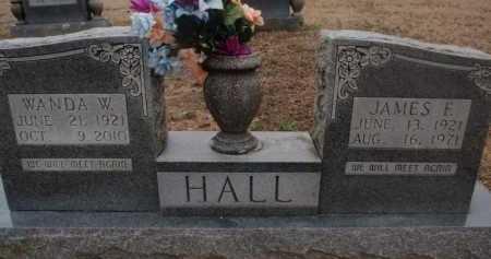 HALL, WANDA W - Boone County, Arkansas | WANDA W HALL - Arkansas Gravestone Photos