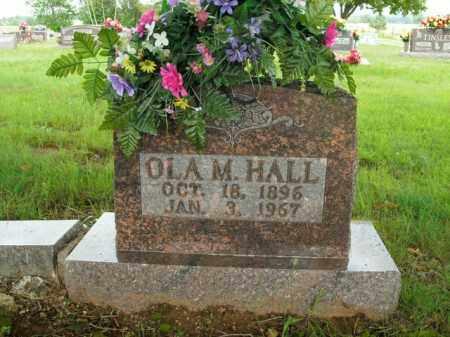 HALL, OLA M. - Boone County, Arkansas | OLA M. HALL - Arkansas Gravestone Photos