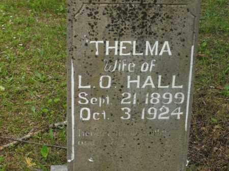 HALL, THELMA - Boone County, Arkansas   THELMA HALL - Arkansas Gravestone Photos