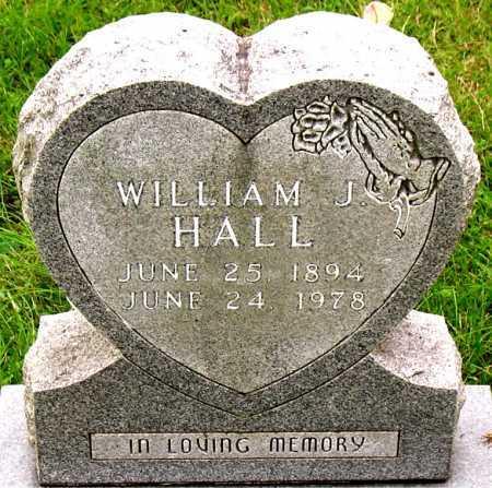 HALL, WILLIAM J - Boone County, Arkansas   WILLIAM J HALL - Arkansas Gravestone Photos