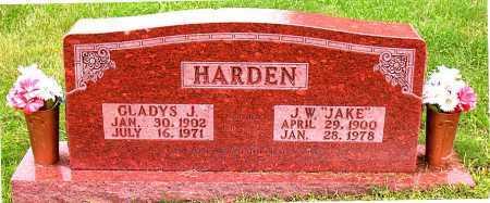 HARDEN, J W (JAKE) - Boone County, Arkansas | J W (JAKE) HARDEN - Arkansas Gravestone Photos