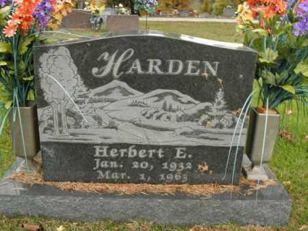 HARDEN, HERBERT EUGENE - Boone County, Arkansas   HERBERT EUGENE HARDEN - Arkansas Gravestone Photos