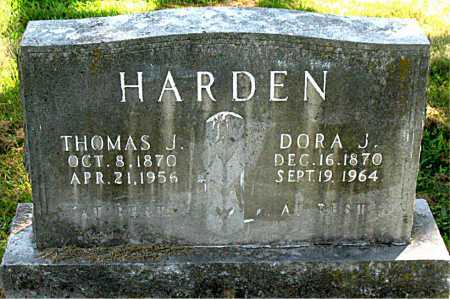 HARDEN, THOMAS JEFFERSON - Boone County, Arkansas | THOMAS JEFFERSON HARDEN - Arkansas Gravestone Photos