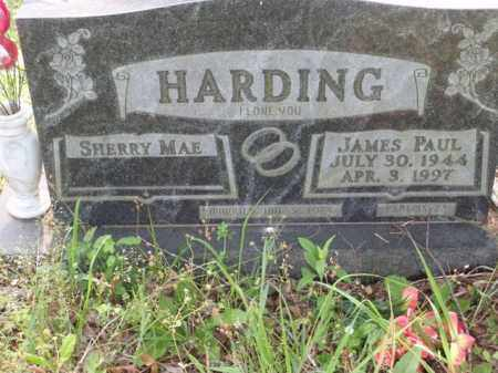 HARDING, JAMES PAUL - Boone County, Arkansas | JAMES PAUL HARDING - Arkansas Gravestone Photos