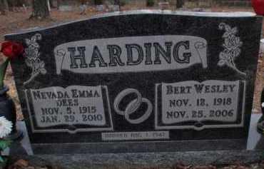 DEES HARDING, NEVADA EMMA - Boone County, Arkansas | NEVADA EMMA DEES HARDING - Arkansas Gravestone Photos