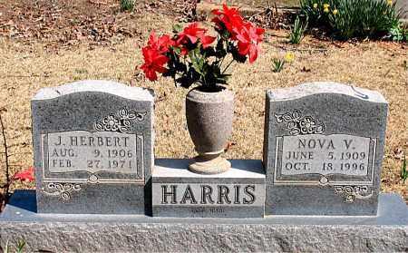 HARRIS, J. HERBERT - Boone County, Arkansas | J. HERBERT HARRIS - Arkansas Gravestone Photos