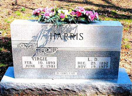 HARRIS, L.  D. - Boone County, Arkansas | L.  D. HARRIS - Arkansas Gravestone Photos