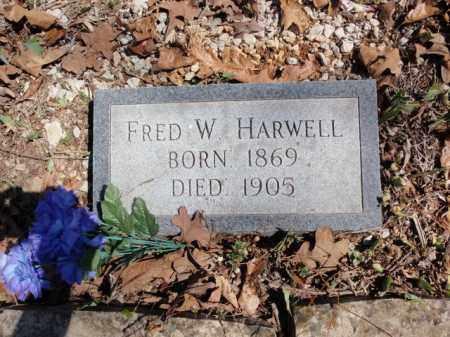 HARWELL, FRED W. - Boone County, Arkansas   FRED W. HARWELL - Arkansas Gravestone Photos