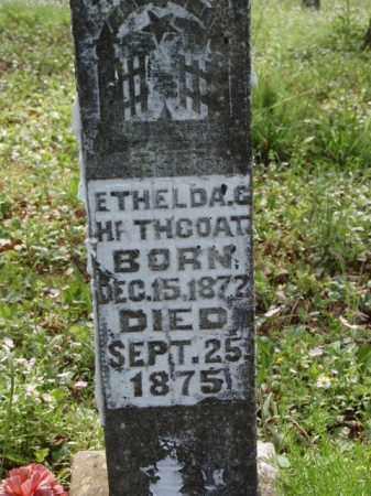 HATHCOAT, ETHELDA CAROLINE - Boone County, Arkansas | ETHELDA CAROLINE HATHCOAT - Arkansas Gravestone Photos