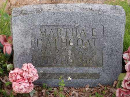HATHCOAT, MARTHA EVALINE - Boone County, Arkansas | MARTHA EVALINE HATHCOAT - Arkansas Gravestone Photos