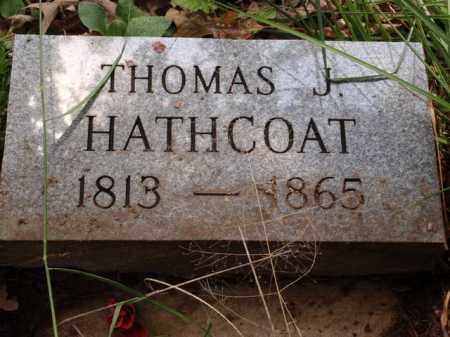 HATHCOAT, THOMAS J. - Boone County, Arkansas | THOMAS J. HATHCOAT - Arkansas Gravestone Photos