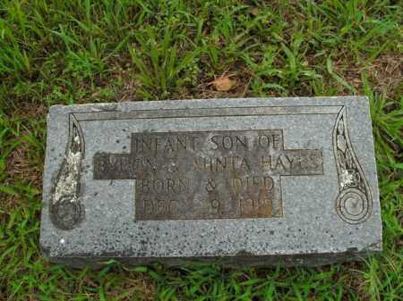HAYES, INFANT SON - Boone County, Arkansas | INFANT SON HAYES - Arkansas Gravestone Photos