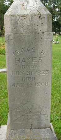 HAYES, ISAAC H. - Boone County, Arkansas   ISAAC H. HAYES - Arkansas Gravestone Photos