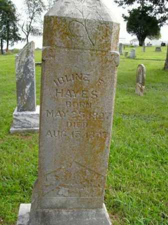 HAYES, IBLINE F. - Boone County, Arkansas | IBLINE F. HAYES - Arkansas Gravestone Photos