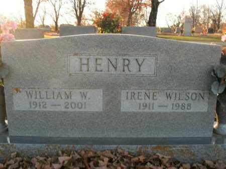 WILSON HENRY, IRENE - Boone County, Arkansas   IRENE WILSON HENRY - Arkansas Gravestone Photos