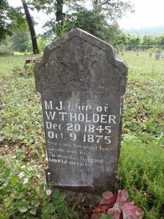 HOLDER, MARY JANE - Boone County, Arkansas | MARY JANE HOLDER - Arkansas Gravestone Photos