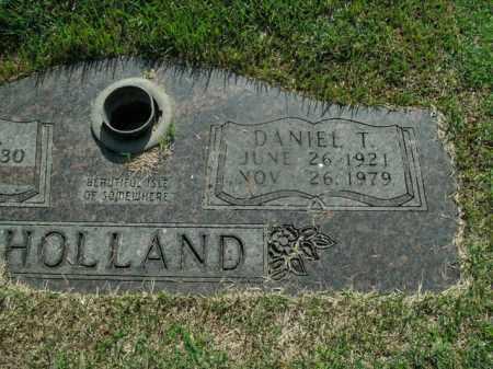 HOLLAND, DANIEL T. - Boone County, Arkansas | DANIEL T. HOLLAND - Arkansas Gravestone Photos