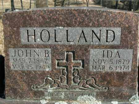 HOLLAND, JOHN BEA - Boone County, Arkansas | JOHN BEA HOLLAND - Arkansas Gravestone Photos