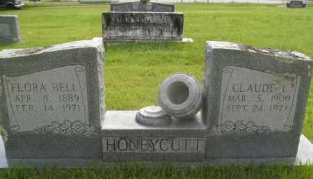 HONEYCUTT, CLAUDE L. - Boone County, Arkansas   CLAUDE L. HONEYCUTT - Arkansas Gravestone Photos