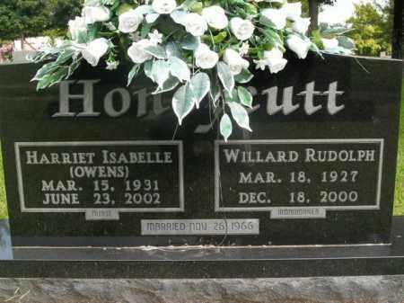 HONEYCUTT, HARRIET ISABELLE - Boone County, Arkansas | HARRIET ISABELLE HONEYCUTT - Arkansas Gravestone Photos