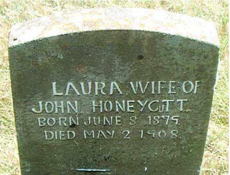 HONEYCUTT, LAURA - Boone County, Arkansas   LAURA HONEYCUTT - Arkansas Gravestone Photos