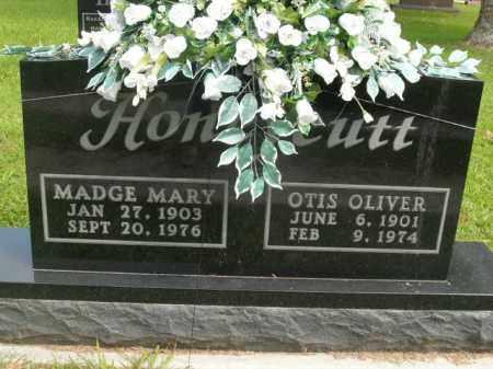 HONEYCUTT, MADGE MARY - Boone County, Arkansas | MADGE MARY HONEYCUTT - Arkansas Gravestone Photos