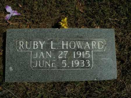 HOWARD, RUBY L. - Boone County, Arkansas | RUBY L. HOWARD - Arkansas Gravestone Photos