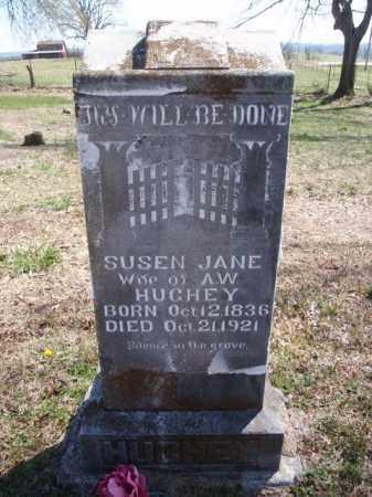HUGHEY, SUSEN JANE - Boone County, Arkansas   SUSEN JANE HUGHEY - Arkansas Gravestone Photos