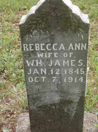 SMITH JAMES, REBECCA ANN - Boone County, Arkansas | REBECCA ANN SMITH JAMES - Arkansas Gravestone Photos