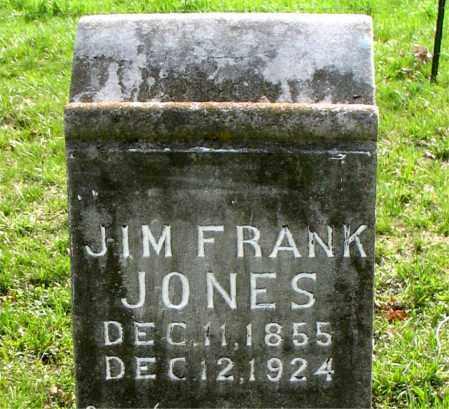 JONES, JIM FRANK - Boone County, Arkansas   JIM FRANK JONES - Arkansas Gravestone Photos