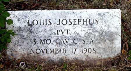 JOSEPHUS  (VETERAN CSA), LOUIS - Boone County, Arkansas   LOUIS JOSEPHUS  (VETERAN CSA) - Arkansas Gravestone Photos