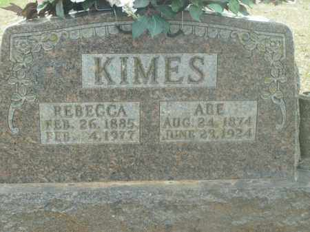 KIMES, ABE LINCOLN - Boone County, Arkansas | ABE LINCOLN KIMES - Arkansas Gravestone Photos
