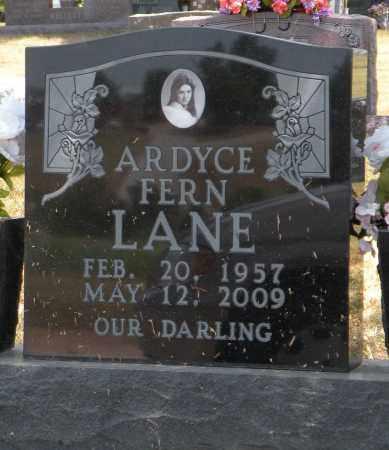 LANE, ARDYCE FERN - Boone County, Arkansas | ARDYCE FERN LANE - Arkansas Gravestone Photos