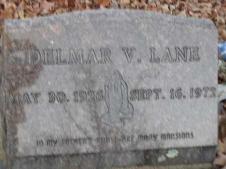 LANE, DELMAR V. - Boone County, Arkansas   DELMAR V. LANE - Arkansas Gravestone Photos