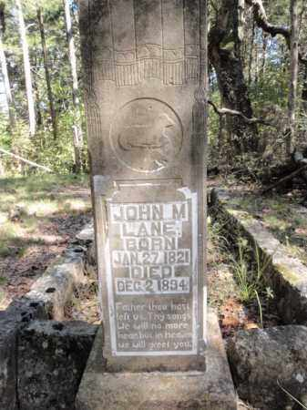 LANE, JOHN M. - Boone County, Arkansas | JOHN M. LANE - Arkansas Gravestone Photos
