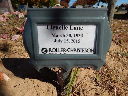 LANE, LIEUELLE - Boone County, Arkansas   LIEUELLE LANE - Arkansas Gravestone Photos