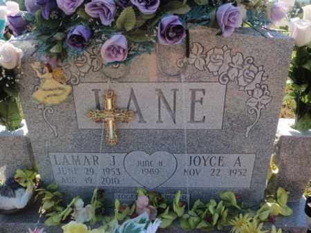 LANE, LAMAR J - Boone County, Arkansas   LAMAR J LANE - Arkansas Gravestone Photos