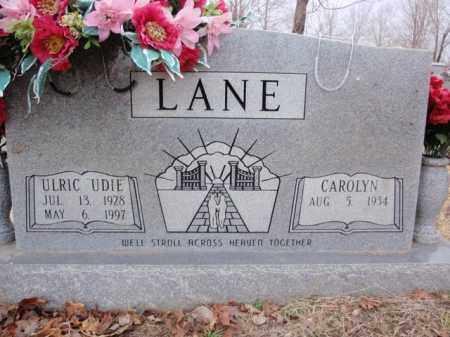 LANE, ULRIC UDIE - Boone County, Arkansas | ULRIC UDIE LANE - Arkansas Gravestone Photos