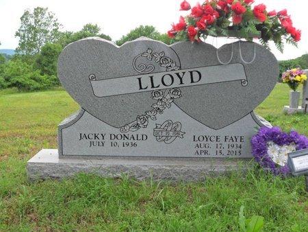 LLOYD, LOYCE FAYE - Boone County, Arkansas | LOYCE FAYE LLOYD - Arkansas Gravestone Photos