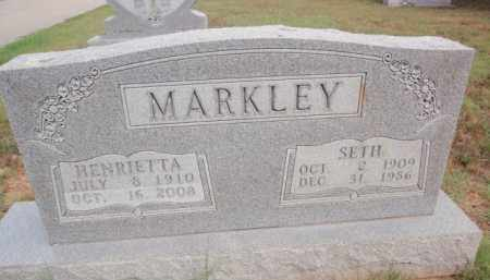 MARKLEY, SETH - Boone County, Arkansas | SETH MARKLEY - Arkansas Gravestone Photos