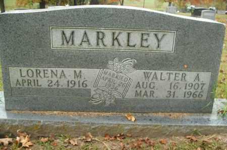 MARKLEY, WALTER A. - Boone County, Arkansas | WALTER A. MARKLEY - Arkansas Gravestone Photos