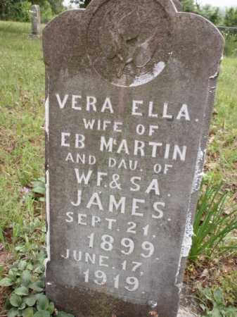 MARTIN, VERA ELLA - Boone County, Arkansas   VERA ELLA MARTIN - Arkansas Gravestone Photos