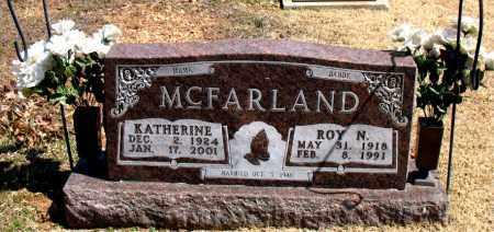 MCFARLAND, KATHERINE - Boone County, Arkansas | KATHERINE MCFARLAND - Arkansas Gravestone Photos