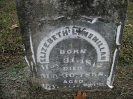 MCMILLAN, ELIZABETH L. - Boone County, Arkansas | ELIZABETH L. MCMILLAN - Arkansas Gravestone Photos