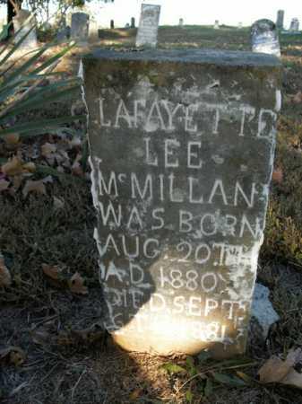 MCMILLAN, LAFAYETTE L. - Boone County, Arkansas | LAFAYETTE L. MCMILLAN - Arkansas Gravestone Photos